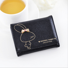Free shipping,Wallet,QXMINGJIA New Arrival Women short Wallets Cowhide Leather Zipper and Hasp Coin Purses Female mini Wallet