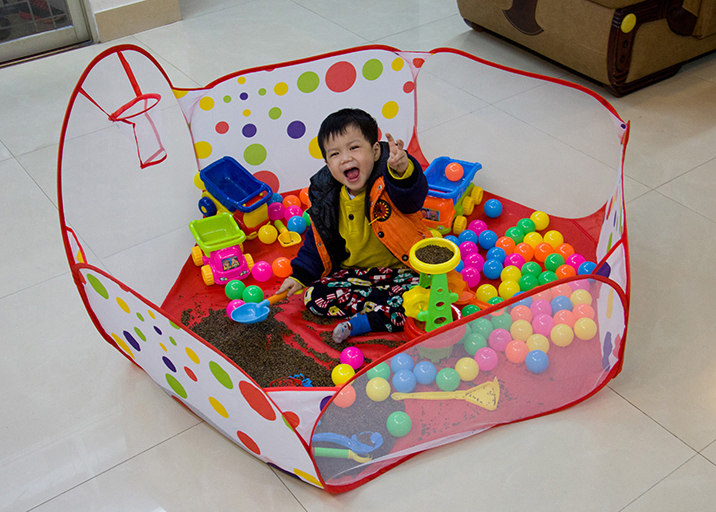 Baby Toys Play House Baby Children Tent Indoor Shooting Folding Wave Pool Ocean Ball Pool 1-3 Years Old