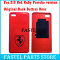 Для Blackberry Z10 Красный Рубин Porsche версия Новый Оригинальный Мобильный Телефон Корпус Вернуться Батареи door Обложка чехол Бесплатная доставка