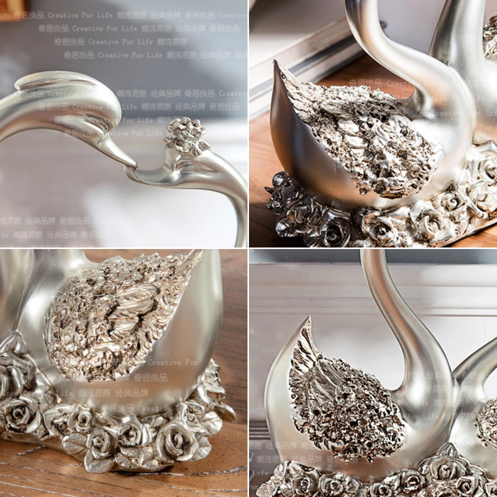 Home decor gift articles in silver