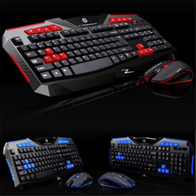 Reliable Gaming wireless 2.4G keyboard and Mouse Set to computer Multimedia Gamer