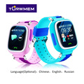 Q90 kid gps smart watch relógio relógio da tela de toque wifi posicionamento sos chamada dispositivo de localização smart watch crianças fita dupla