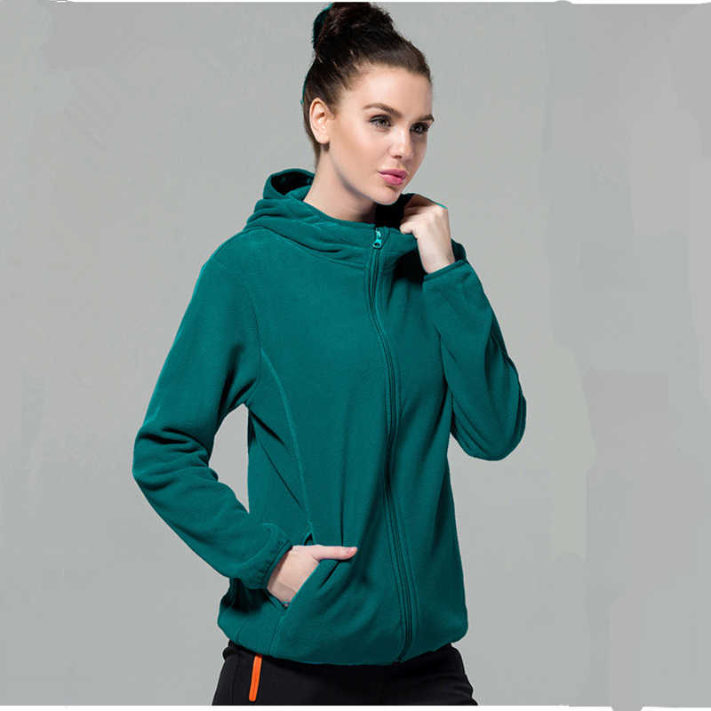 2018 New Brand Autumn Winter Women Thick Warm Fleece Jackets Hooded Outerwear Ladies Slim Fit High-Quality Casual Thermal Coats