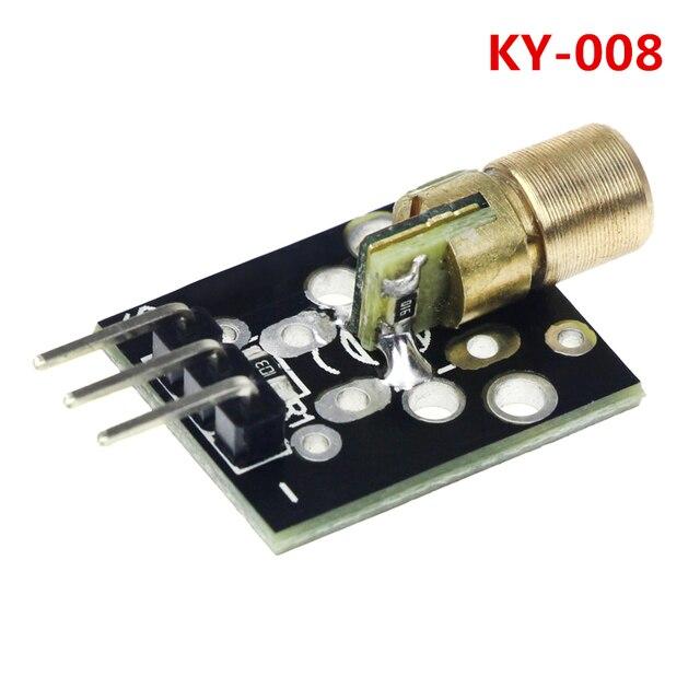 KY-008 3pin 650nm Red Dot Laser Transmitter Module