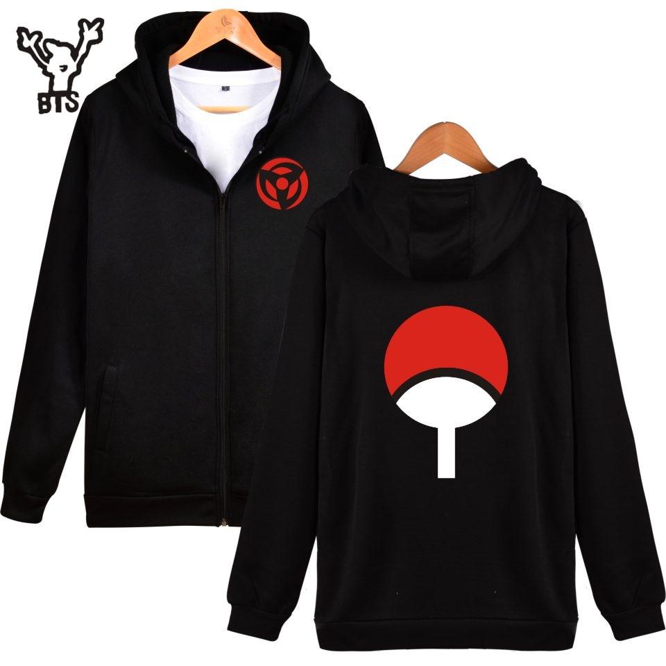 BTS Naruto Classic Japanese Cartoon Hooded Sweatshirt Men ...