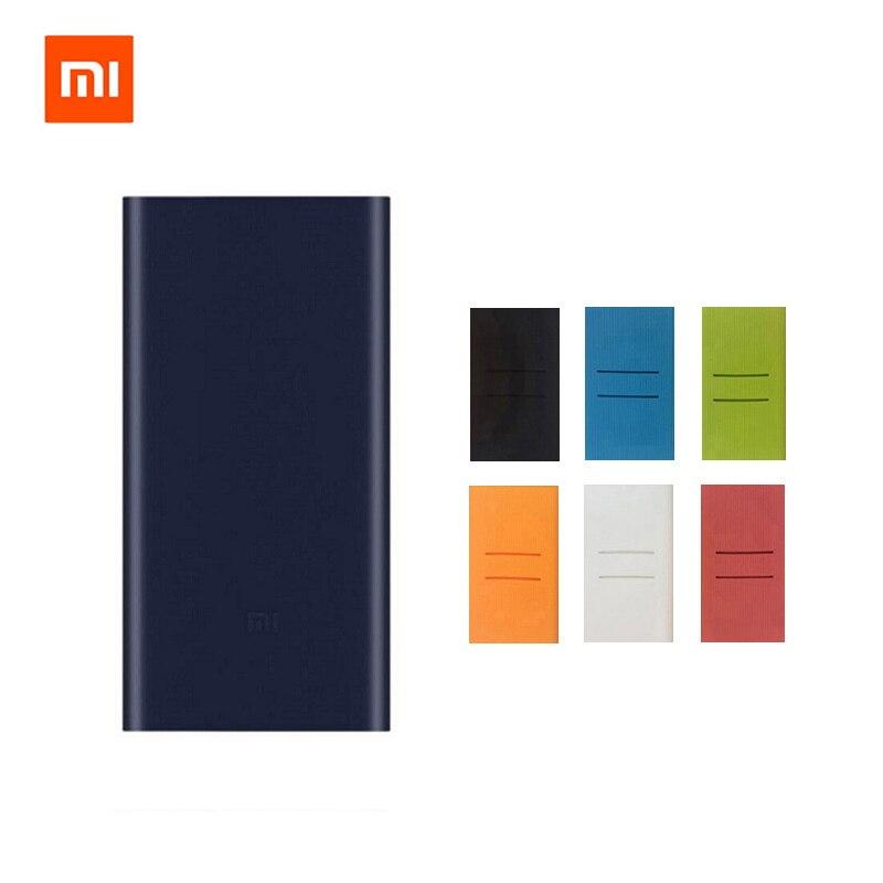 2018 neue Xiaomi Mi Energienbank 2 10000 mAh Dual Usb-ausgang Unterstützung 18 Watt Schnellladung 10000 mAh Powerbank Externe Batterie Pack