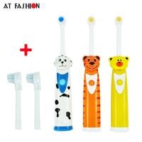Teeth Care Children Electric Toothbrush Cartoon Pattern Kids Waterproof Soft Bristle Toothbrush Professional Kids Oral Hygiene