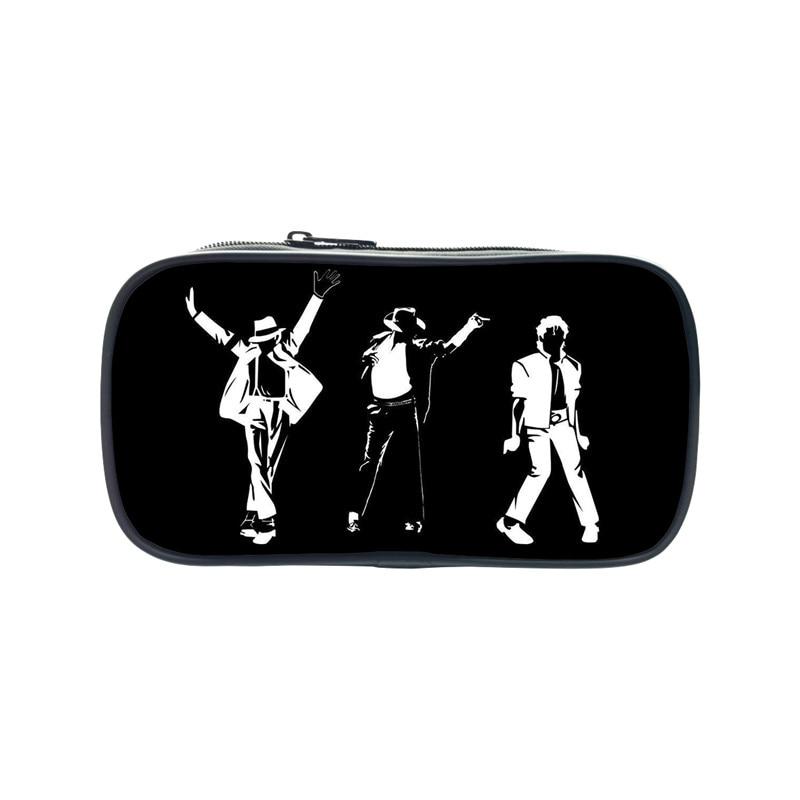 100% Waar 2017 Nieuwe Mode Michael Jackson Potlood 3d Printing Case Casual Studenten Schoolbenodigdheden Mj Portemonnee Custom Drop Verzending Quell Summer Thirst