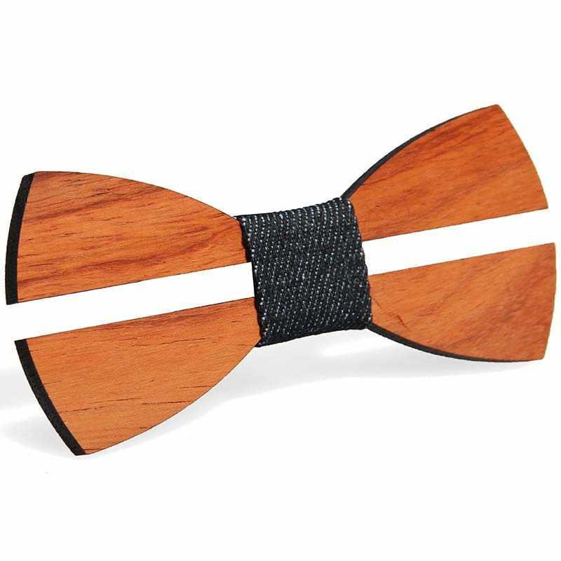 YISHLINE новый деревянный галстук-бабочка Пейсли галстук мужской клетчатая галстук-бабочка деревянный полый резной вырезанный цветочный дизайн модные новинки Галстуки