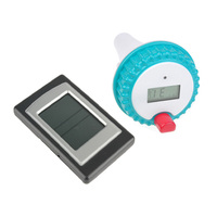 Outdoor Wireless Digital Swimming Pool Temperature Thermometer Receiver LCD Pools Pond Spa Thermometer Transmitter With Receiver