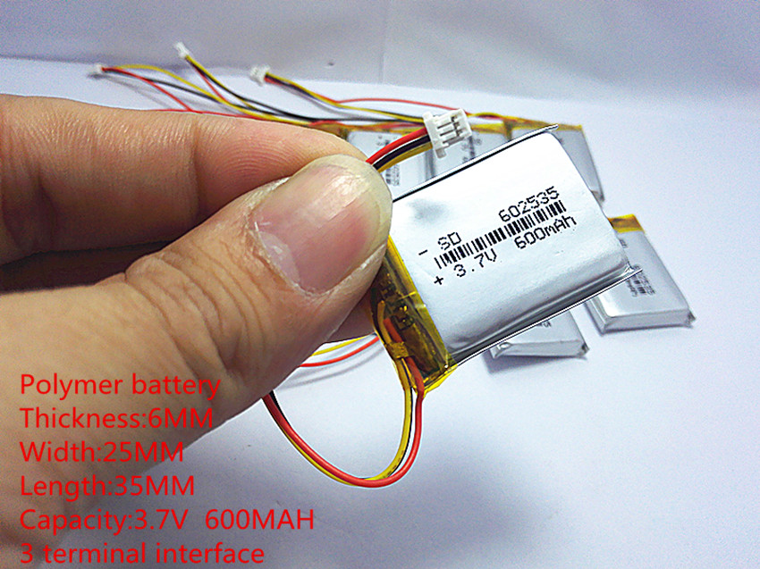Baterias Digitais mivue 388 modelo 582535 602535 Tipo : Bateria Padrão