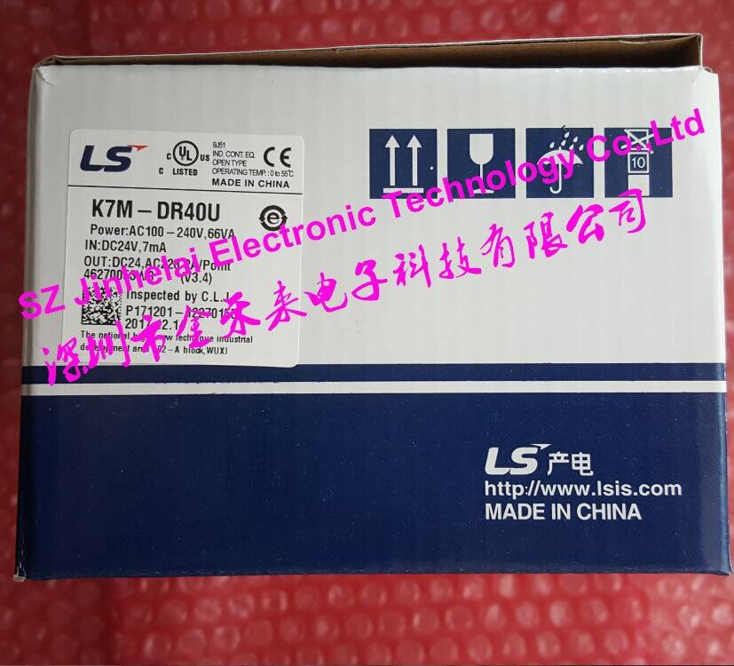 100 New and original K7M DR40U LS LG plc controller
