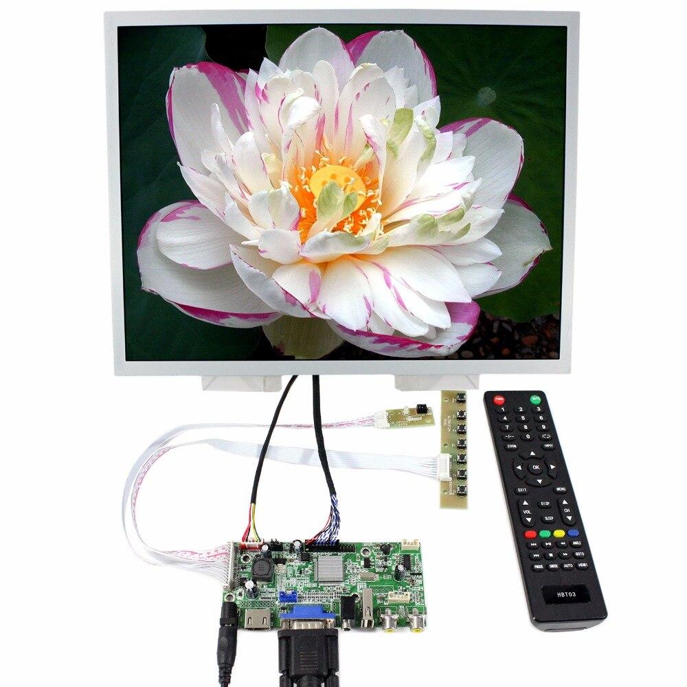 HDMI VGA 2AV USB Audio LCD Driver Board 15 LQ150X1LG96 1024x768 LCD Display hdmi vga 2av driver board 10 1inch 1024 600lcd pane b101aw03 ltn101nt02 lp101ws1