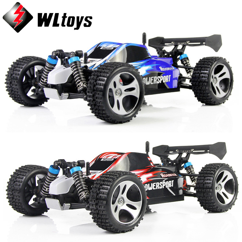 Wltoys A959 High Quality Rc Car 50Km/H 1/18 2.4Gh 4WD Off-Road Buggy Remote Control Toys Christmas Birthday Gift For Children wltoys a202 1 24 electric 4wd off road buggy