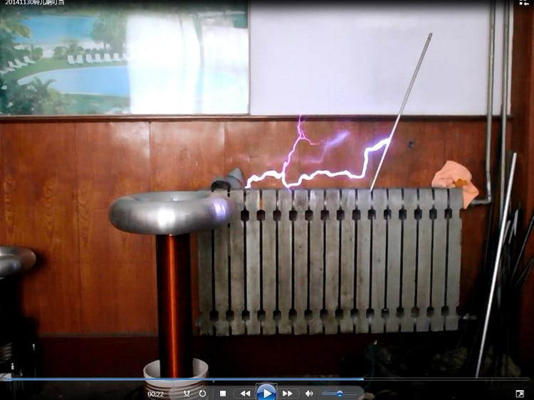 Tesla coil DRSSTC music arc artificial lightning custom map цена и фото