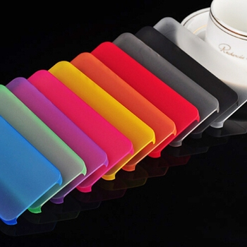 Luxury Matte Color Cases for iPhone 7 8 6 6s plus X XS Max XR 5 5s SE 4 S 5C Case Shockproof Soft Plastic Back Cover Capa Claer image
