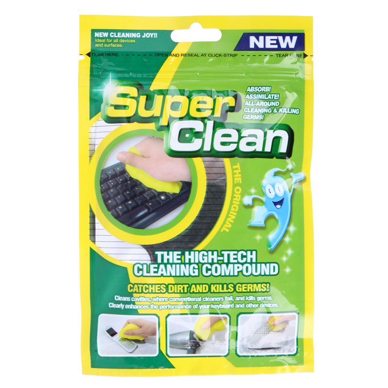 Brand New Practical Magic Innovative Super Dust Clean High Tech Cleaning Compound Slimy Gel For Cyber Computer Hot Selling 19