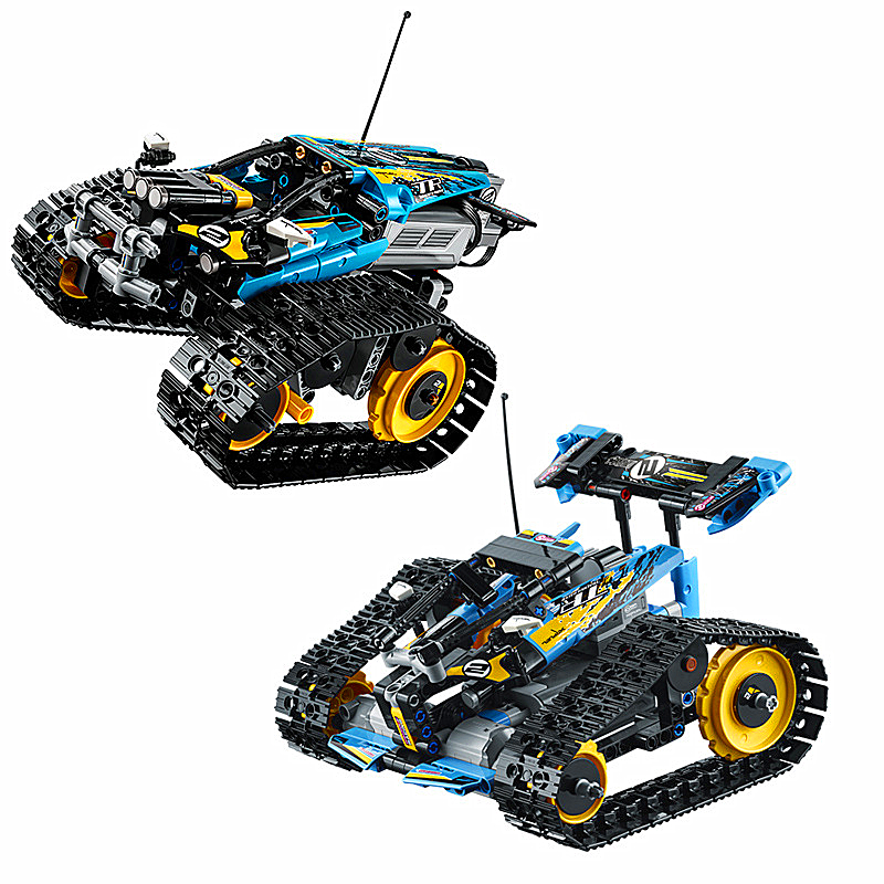 Série legoa Technic jeu de blocs de construction de modèle cascadeur télécommandé Compatible avec Legos 42095 jouets classiques 20096