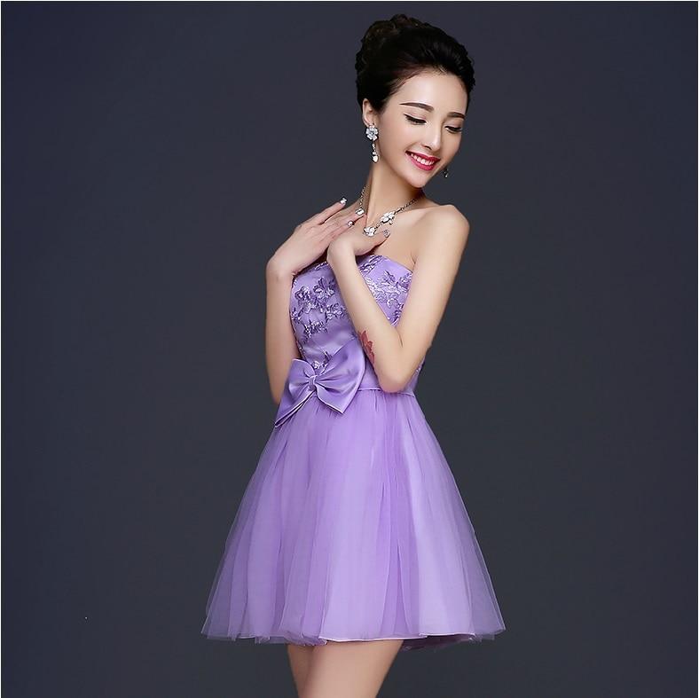 Vistoso Sexy Vestidos Cortos De Dama De Honor Ideas Ornamento ...