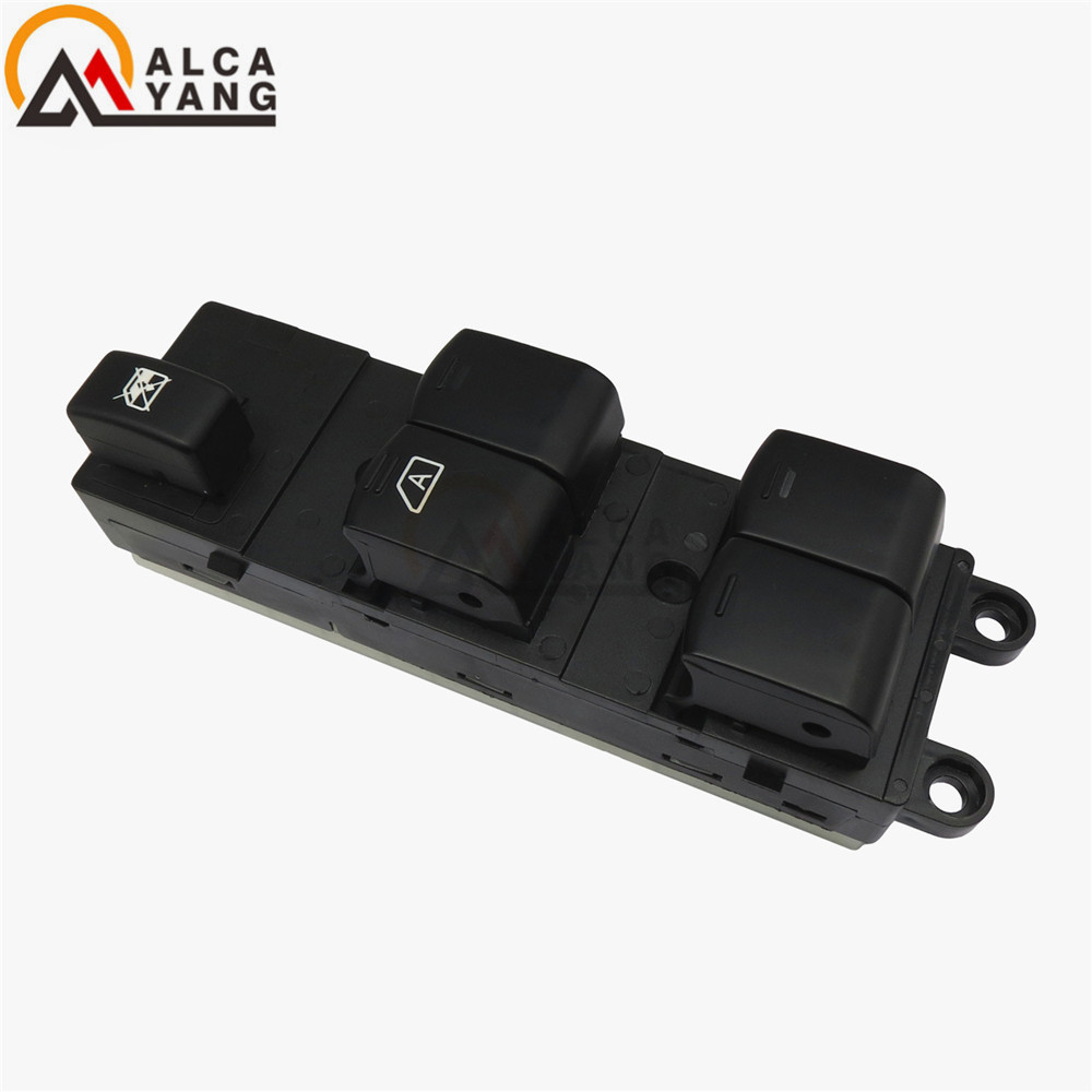 Image 3 - Master Electric Power Window Lifter Switch For Nissan Qashqai J10 2.0 dCi 4WD Navara D40 Vehicles Car QZ 25401JD001 25401BB60B-in Car Switches & Relays from Automobiles & Motorcycles