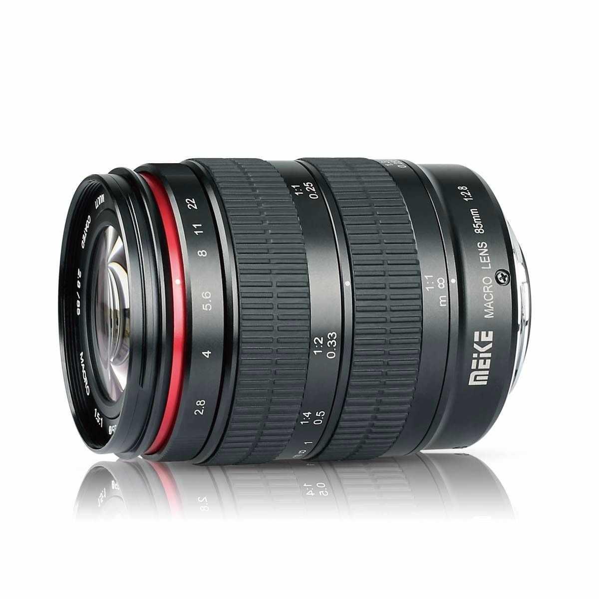 Meike 85 мм F/2,8 ручная фокусировка асферическая средняя телефото полная Рамка Prime макрообъектив для Canon Nikon sony Fujifilm Fuji X-Mount