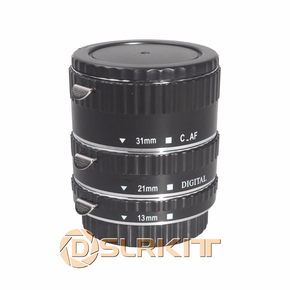 Meike Metal Mount Auto Focus Macro Extension Tube for CANON kwen cn sj1 macro extension tube set for canon black