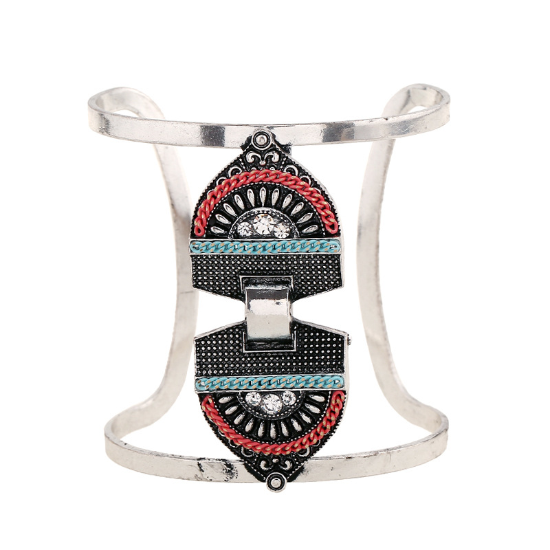 Rainbery Brand Ladies Cuff Bracelets Fashion Women Bohemian Charm Wrap Vintage Bracelets & Bangles Female Wedding Jewelry JB0492