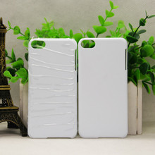 3D sublimation case For ipod touch 6 3D cover blank white 200pcs/Lot