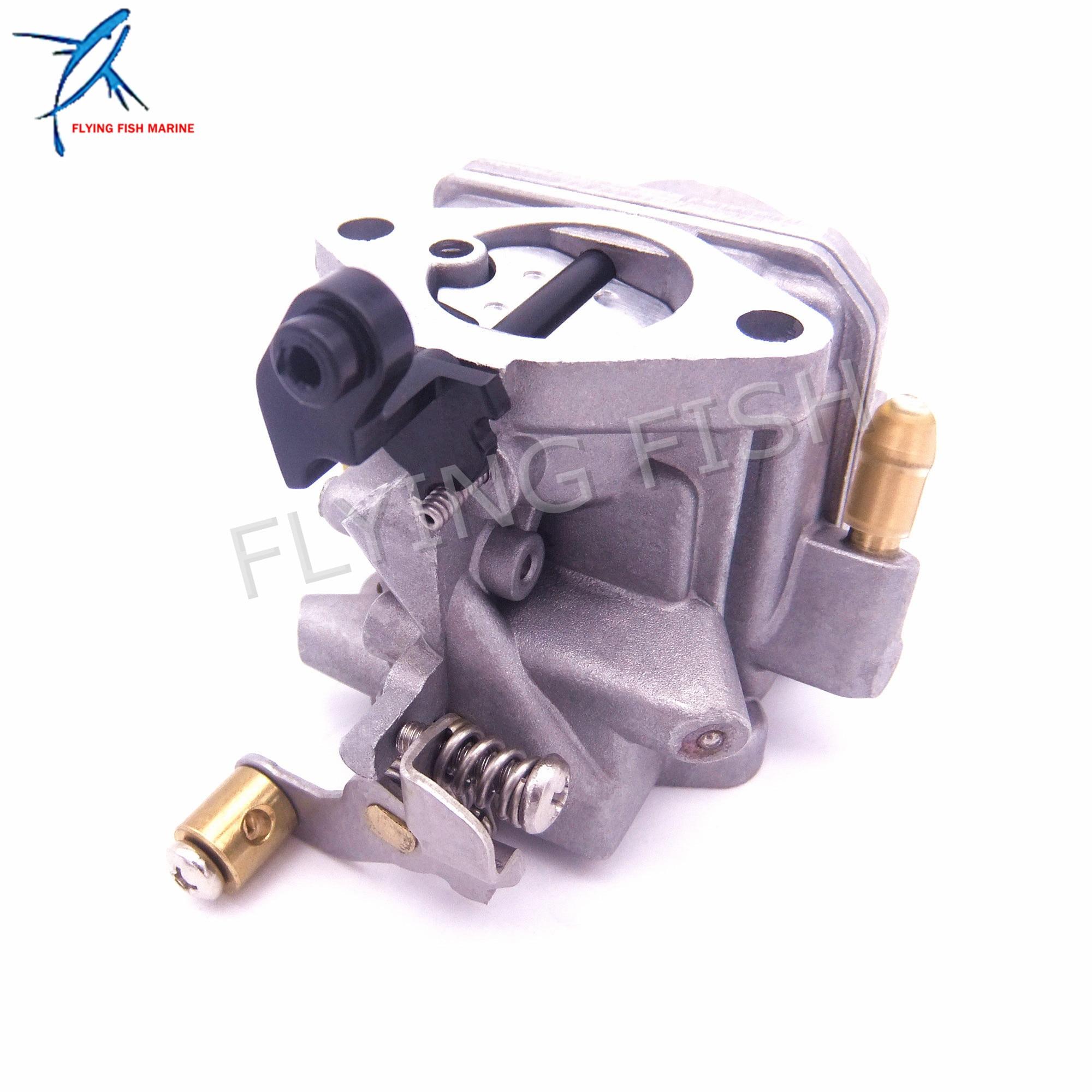 Carburateur de moteur de bateau Assy 6BX-14301-10 6BX-14301-11 6BX-14301-00 pour moteur hors-bord Yamaha 4 temps F6