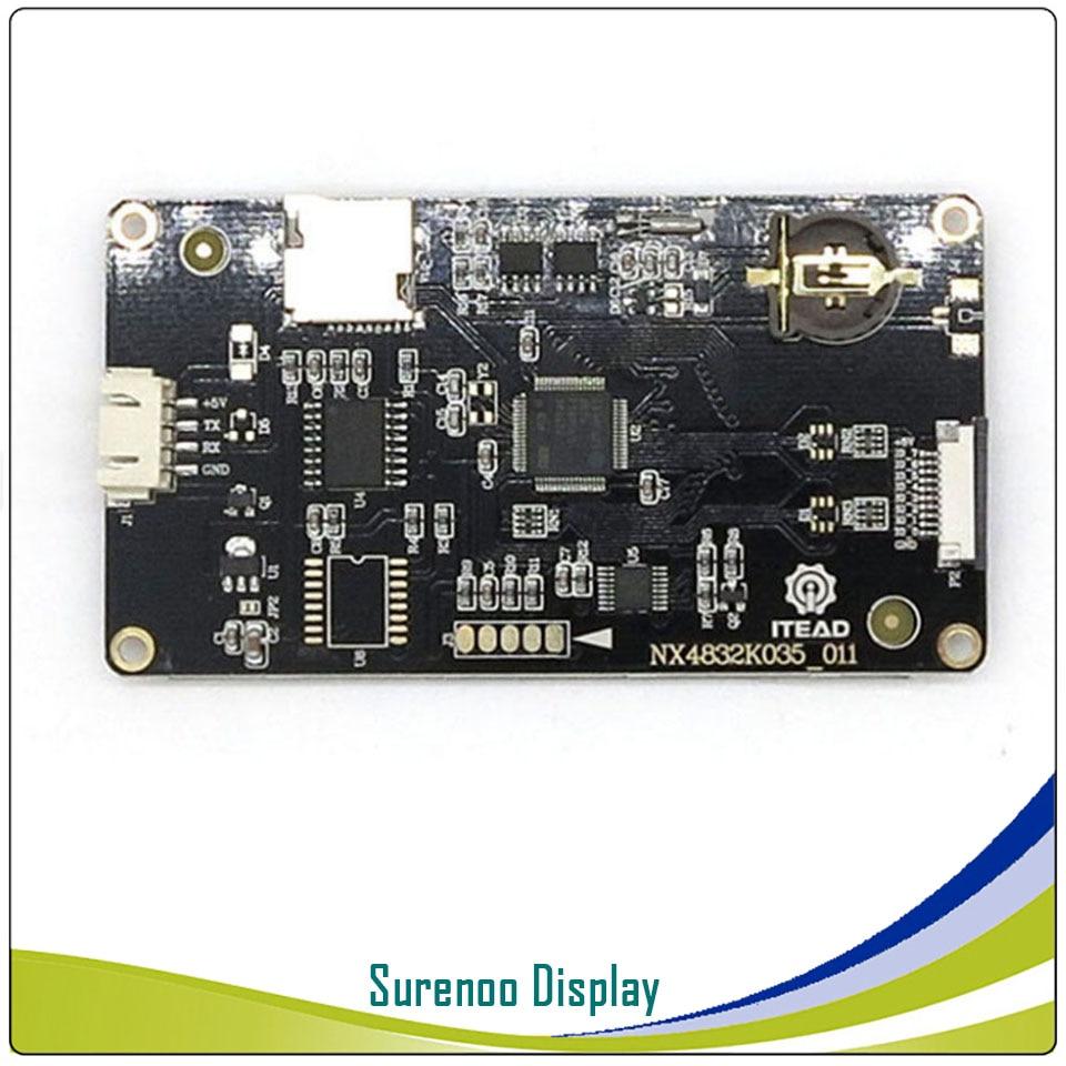 3.5/'/' Enhanced Nextion NX4832K035 HMI TFT Smart USART Serial LCD Touch Display