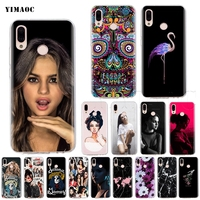 YIMAOC Selena Gomez Silicone Case for Huawei Honor Mate 20 6a 7a 8x 7c 7x 9 10 Nova 3i 3 Lite Pro