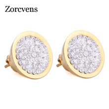 Gold-Color Stainless Steel Earrings