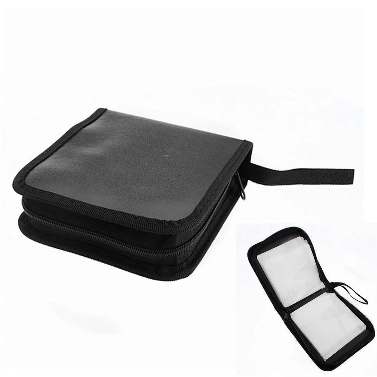 LEORY Black 40 Disc CD DVD Case Wallet Cover Bag Box Carry Case Storage  Holder Organizer Sleeve CD DVD Holder DJ Storage Cover In CD Bags U0026 Cases  From ...