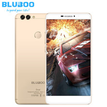 Original BLUBOO Dual Smartphone Android 6.0 MTK67637T Quad-Core-Handy 2 GB + 16 GB 13MP Dual Rückseite Kameras 4G LTE Mobilen telefon