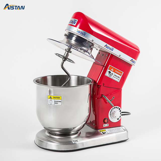 7L/10L electric planetary food mixer machine blender spiral bread dough mixer egg beater with dough hook removable bowl