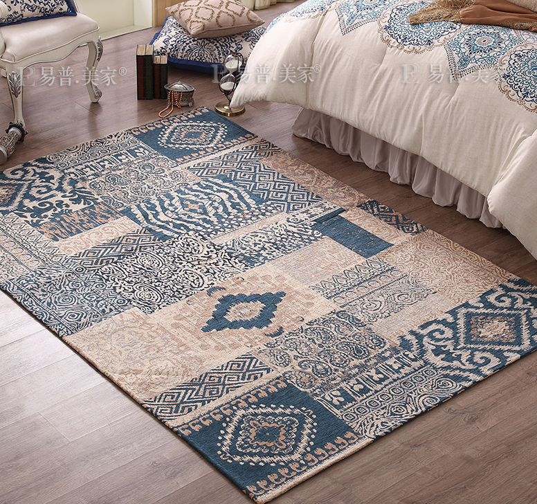 Kingart big living room carpet kid room floor mat thick - Average cost to carpet a bedroom ...
