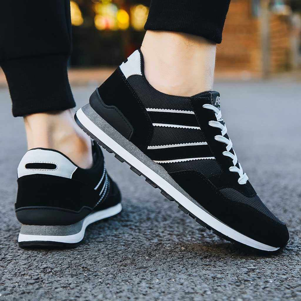 Модные мужские кроссовки 9908 Повседневная обувь; дышащая обувь на шнуровке Обувь для учащихся Для мужчин Повседневное Весна Fly плетеные туфли # g2