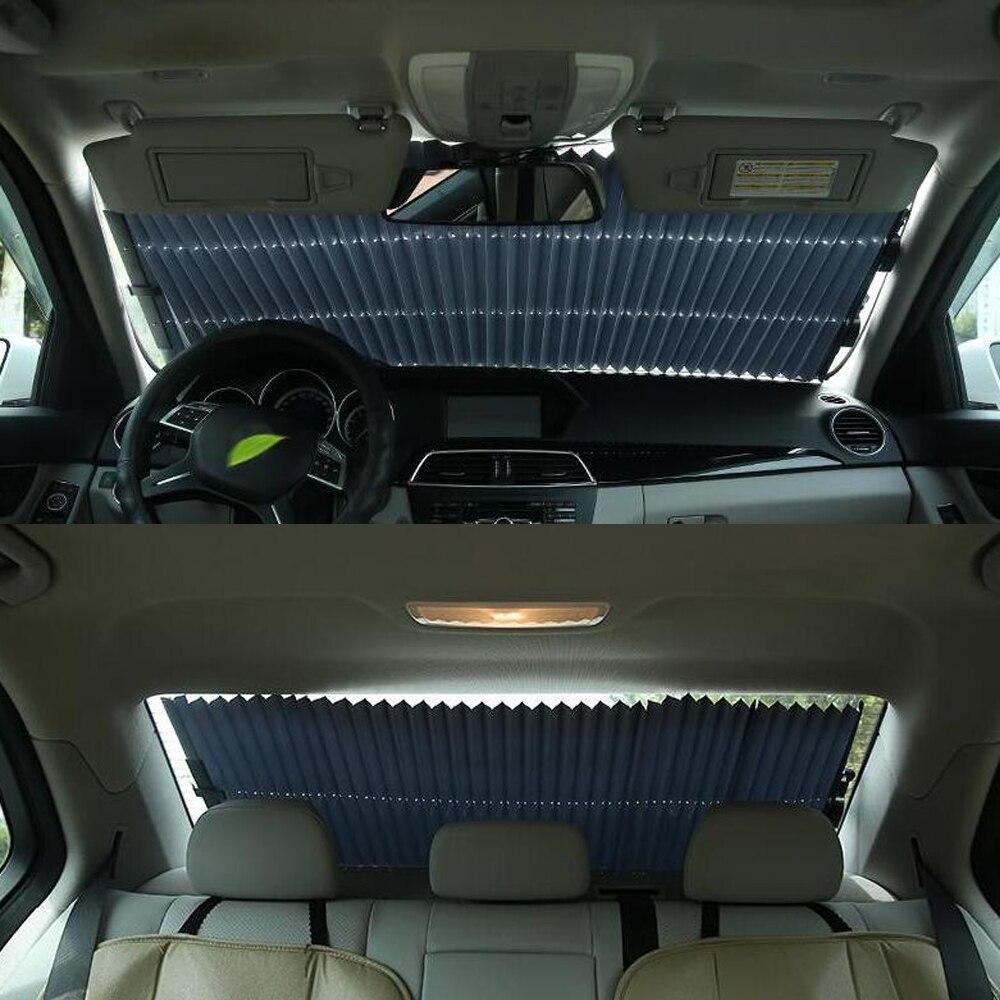 Auto Car Window Sunshade Sun Protection Parasol Coche Car Sunshade Car Curtain Private Car SUV Truck All Canuse Size 65 70 80cm