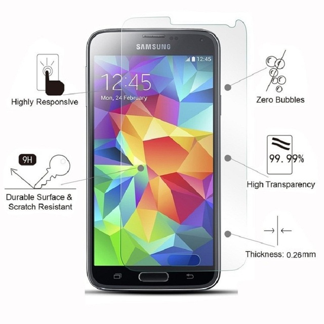 Tempered Glass For Samsung Galaxy S6 S5 Neo S3 S4 J5 J1 J7 J3 2016 J320 Core Prime G360 G361F Grand Prime for SM G530 G531 G531H