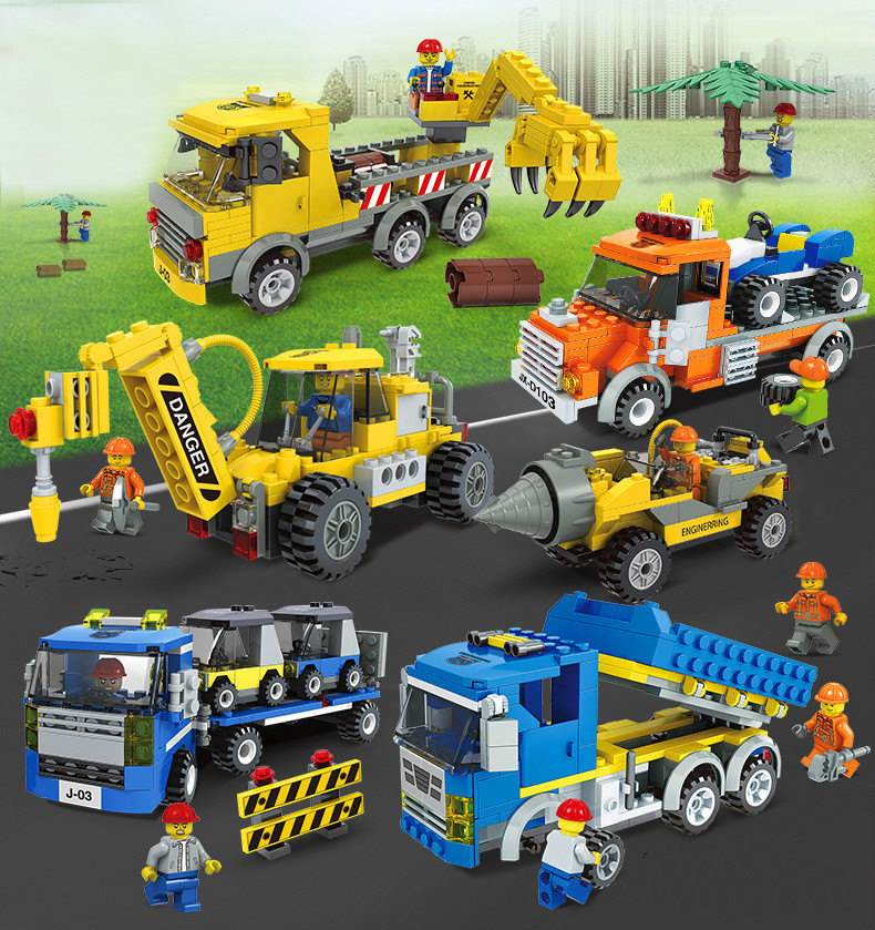 Building Blocks Compatible with Technic J20504-20509 Models Building Kits Blocks Toys Hobby Hobbies For Chlidren