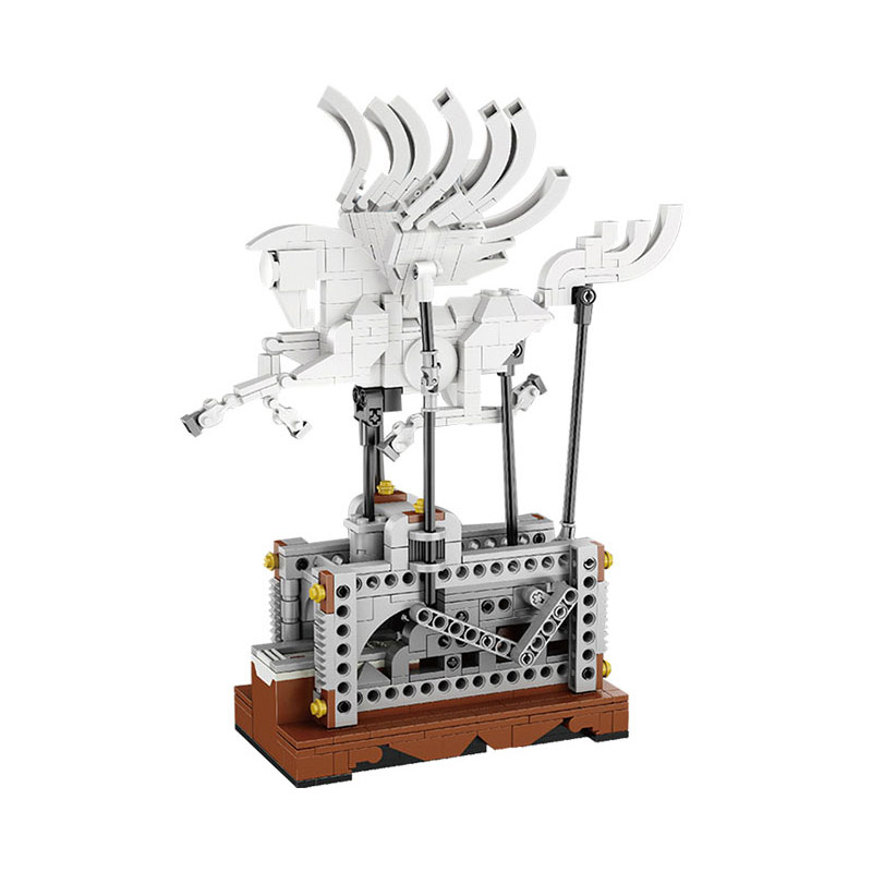 Lis 23015 485Pcs Technic Series The Pegasus Automaton Mechanical Flying Horse Set Educational Building Blocks Bricks Toys Gift new lepin 23015 science and technology education toys 485pcs building blocks set classic pegasus toys children gifts