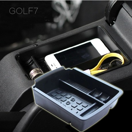 For vw golf 7 mk7 gti glove box armrest box suitcase for 16 box auto