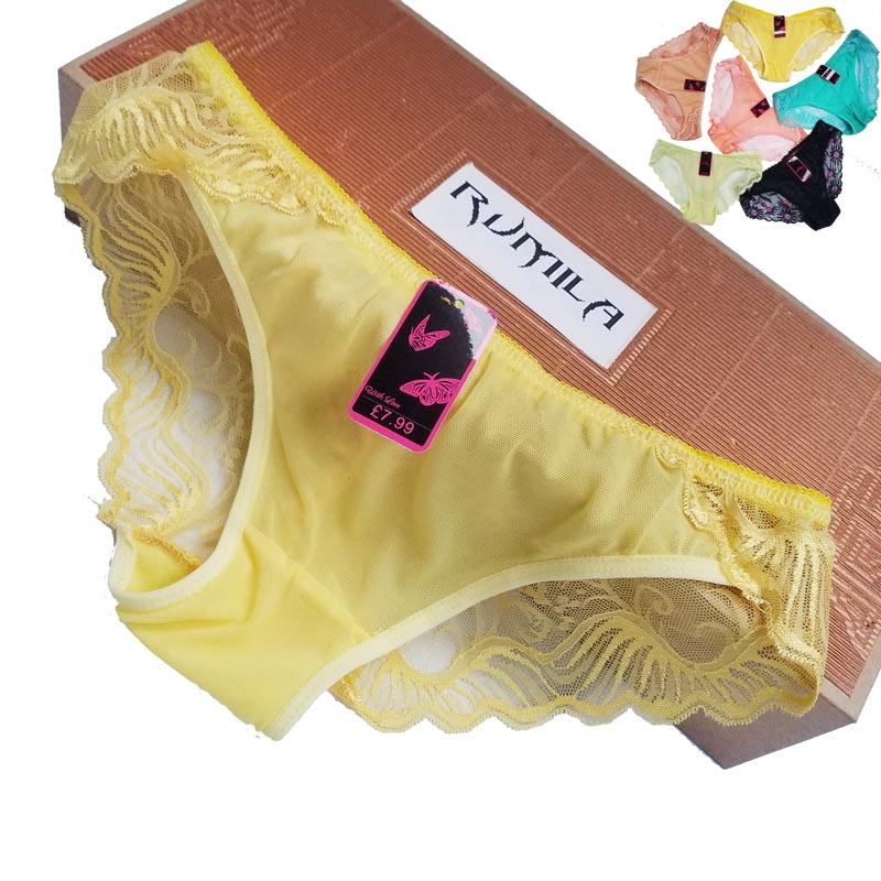 Big size XL-5XL Women lace G-Strings shorts Briefs sexy underwear ladies   panties   lingerie pants thong intimate wear 1pcs ZHX85-1