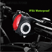 New Wireless Control Bike Light Bell Anti theft Alarm USB Rechargeable Bicycle Light Rear Tail Lamp COB Waterproof Cycling Light