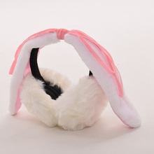 Cute Girls Chirstmas Gift Rabbit Ears Lolita Earmuff Lop Ear Winter Earflap