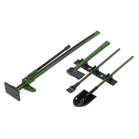 4Pcs AUSTAR 10008A RC Decoration Tools Set Kit RC Accessories for 1:10 RC Rock Crawler Parts Lahore