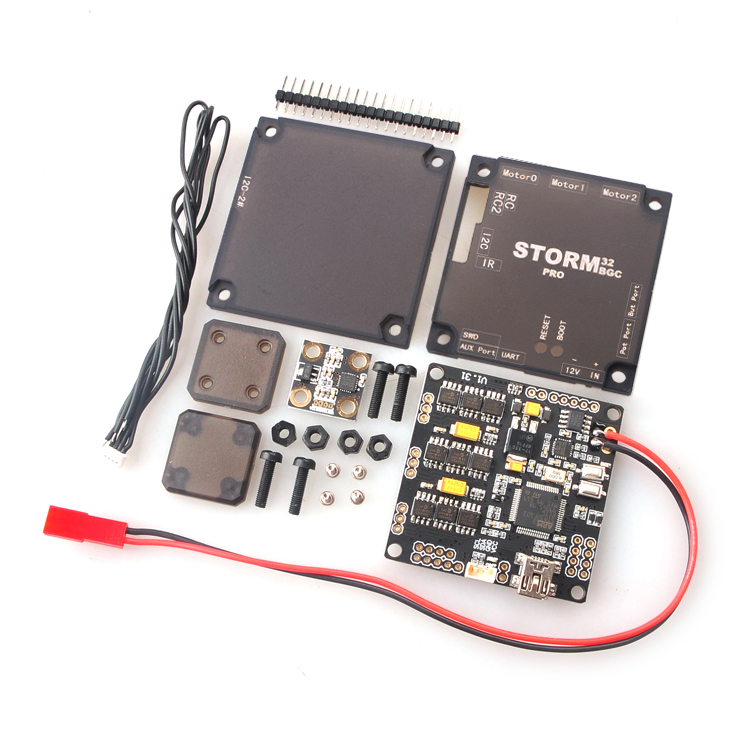 Upgraded Version Storm32BGC Pro 32Bit Gimbal Controller Board Dual Gyroscope w/ Anti-Interference Module for Multicopter F18889 pro 32 статуэтка мал повар profisti parastone 869379