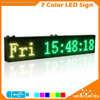 Leadleds RGB Full Color Programmable Led Sign Scrolling Message Board For Your Business RGB