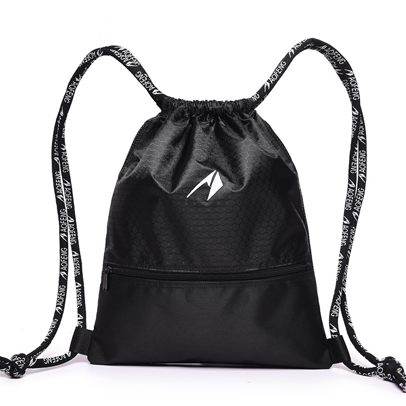 GYKZ Ultralight Cycling Marathon Backpack For Women Men Waterproof Outdoor Gym Basketball Drawstring Bag Folding Backpack HY093 ...