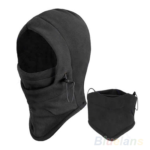 Hot Thermal Fleece Balaclava Hood Police Swat Bike Wind Winter Stopper Face Mask For Skullies & Beanies 0715 7FFG BDFQ